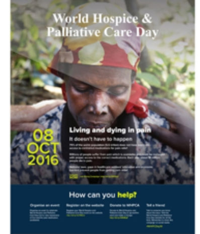 World Hospice and Palliative Care Week: Living and Dying in Pain-It Doesn't Have to Happen